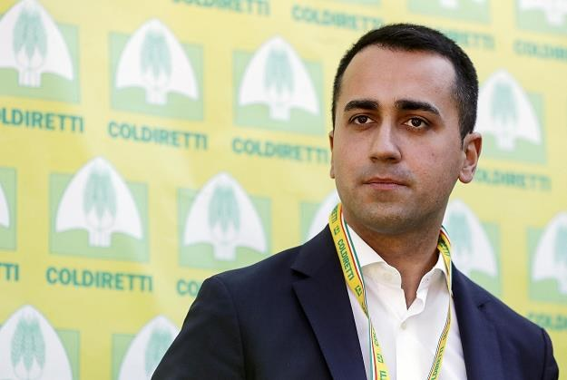 Wicepremier Włoch Luigi Di Maio /EPA