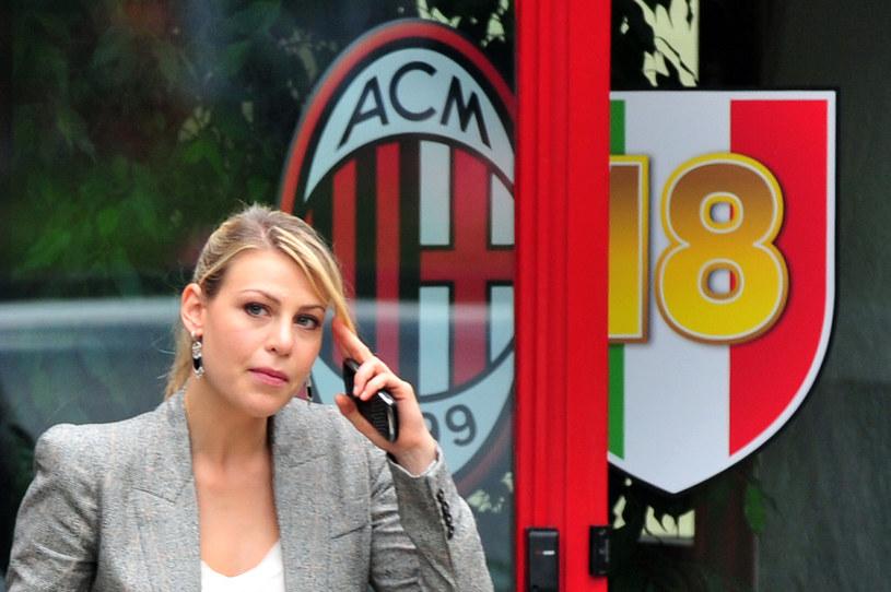 Wiceprezes AC Milan Barbara Berlusconi zaprzeczyła pogłoskom /AFP