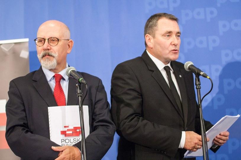 Wiceprezes i prezes PFN: Maciej Świrski i Cezary Jurkiewicz /Paweł Wisniewski /East News