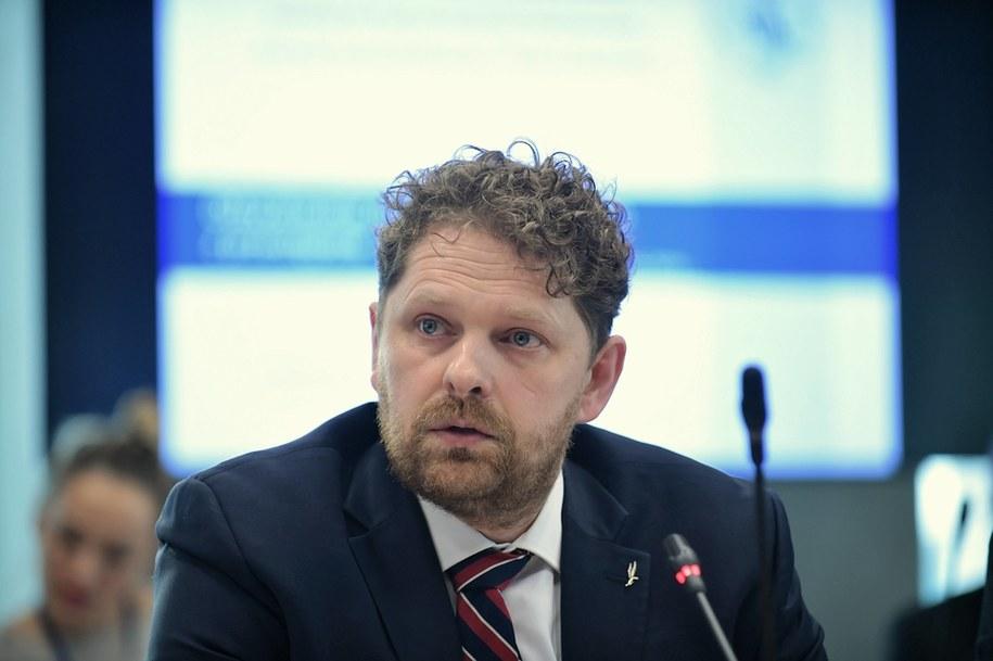 Wiceprezes Najwyższej Izby Kontroli Marek Opioła / Marcin Obara  /PAP