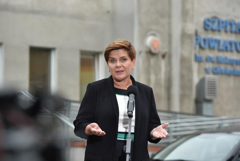 Wiceprezes PiS i kandydatka na premiera Beata Szydło /Jacek Bednarczyk /PAP