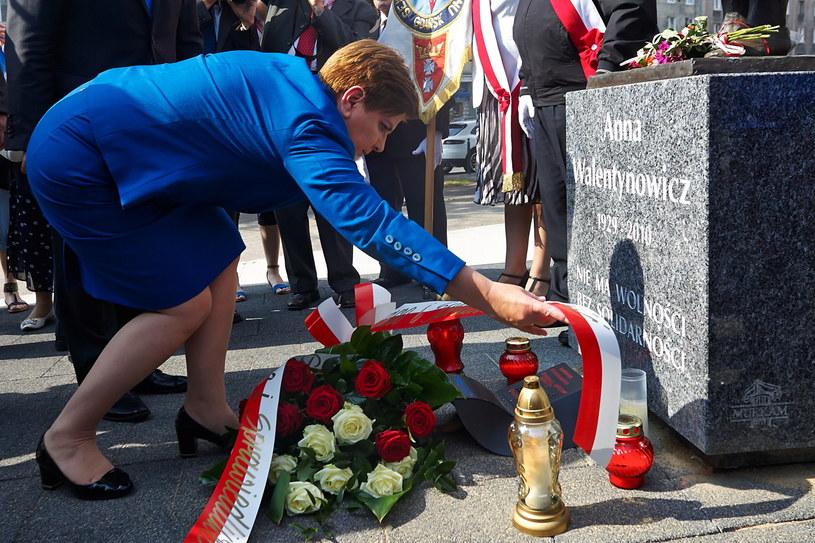 Wiceprezes PiS i kandydatka partii na premiera Beata Szydło /Jan Dzban /PAP
