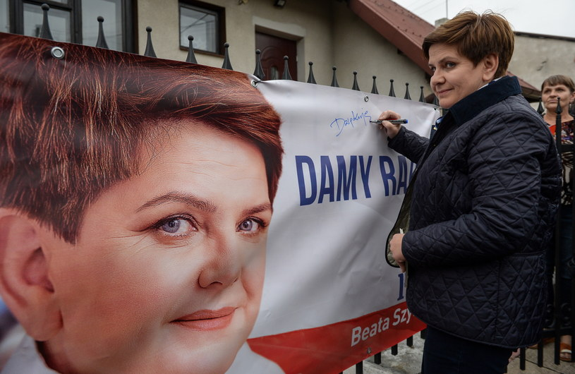 Wiceprezes PiS i kandydatka partii na premiera - Beata Szydło /Marcin Obara /PAP