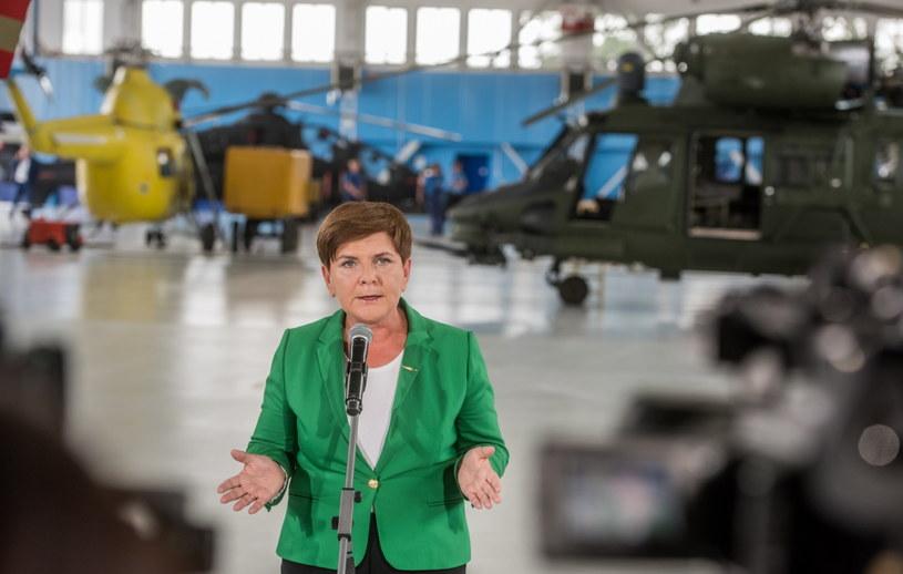 Wiceprezes PiS i kandydatka partii na stanowisko premiera - Beata Szydło /Tomasz Koryszko /PAP