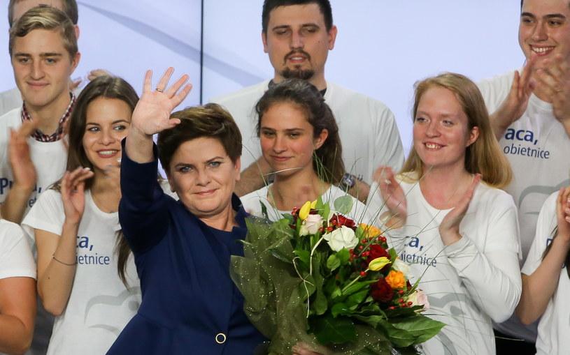 Wiceprezes PiS, kandydatka na premiera Beata Szydło /Beata Szydło /PAP