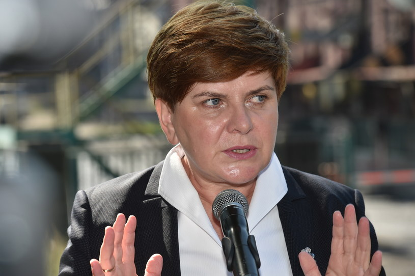Wiceprezes PiS, kandydatka tej partii na premiera Beata Szydło /Jacek Bednarczyk /PAP