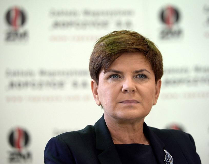 Wiceprezes Prawa i Sprawiedliwości, kandydatka PiS na premiera Beata Szydło /Darek Delmanowicz /PAP