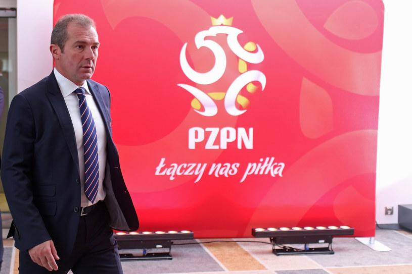 Wiceprezes PZPN Marek Koźmiński /Łukasz Grochala /Newspix