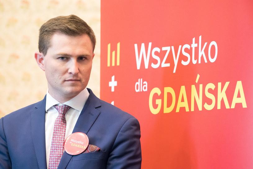 Wiceprezydent Gdańska Piotr Grzelak /Wojciech Strozyk/REPORTER /East News