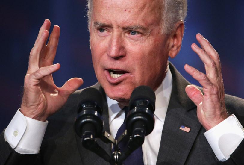 Wiceprezydent USA Joe Biden /AFP