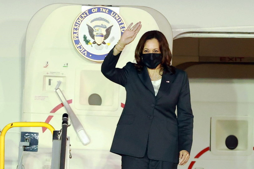 Wiceprezydent USA Kamala Harris /LAM KHANH HANDOUT /PAP/EPA