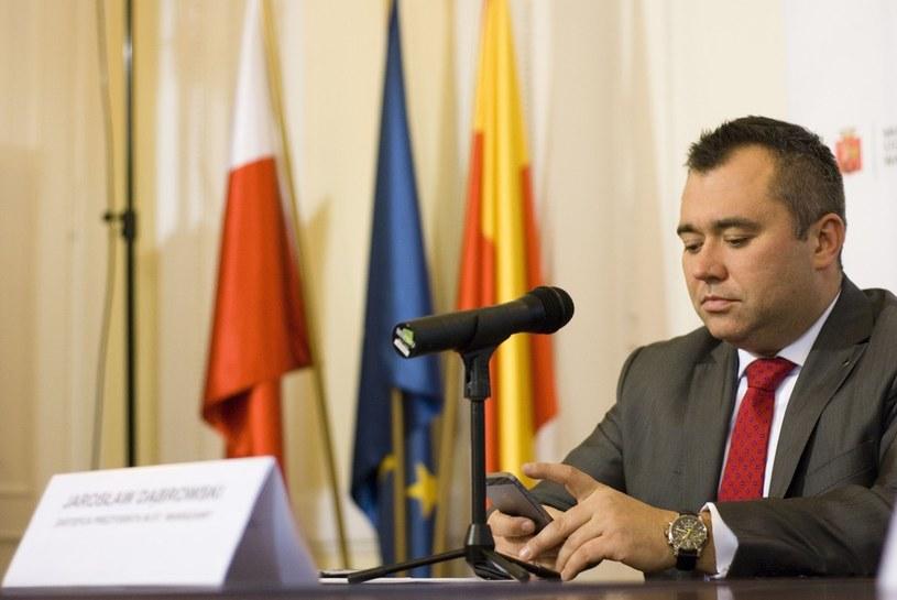 Wiceprezydent Warszawy Jarosław Dąbrowski /Jakub Wosik  /Reporter