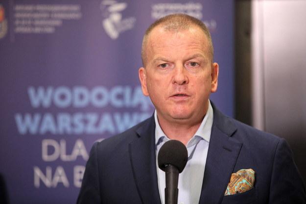 Wiceprezydent Warszawy Robert Soszyński /Wojciech Olkuśnik /PAP