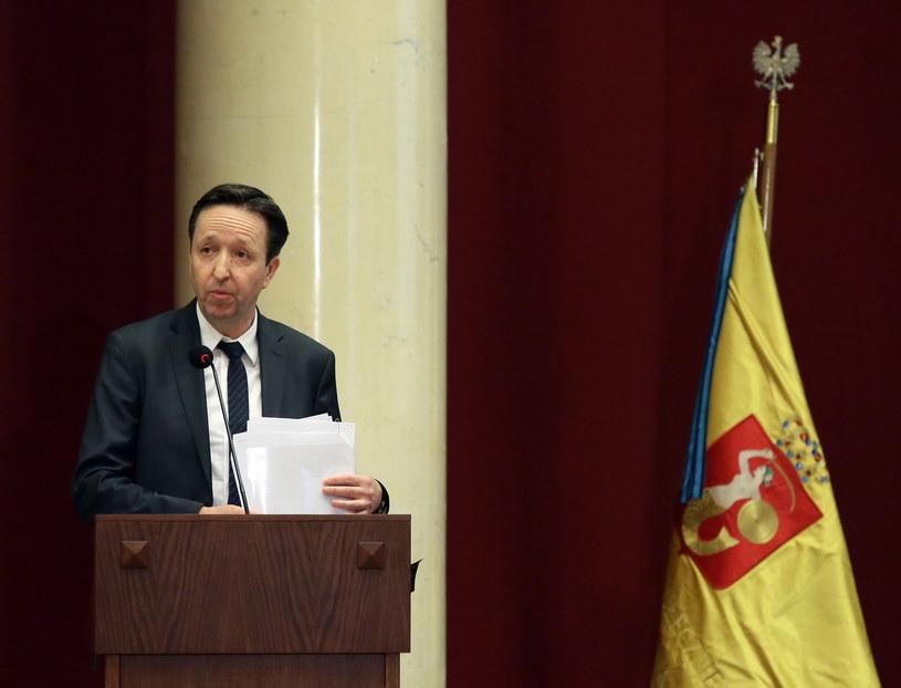 Wiceprezydent Warszawy Witold Pahl /Tomasz Gzell /PAP