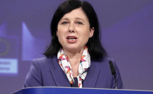 Wiceprzewodnicząca KE Vera Jourova przyjedzie w styczniu do Polski