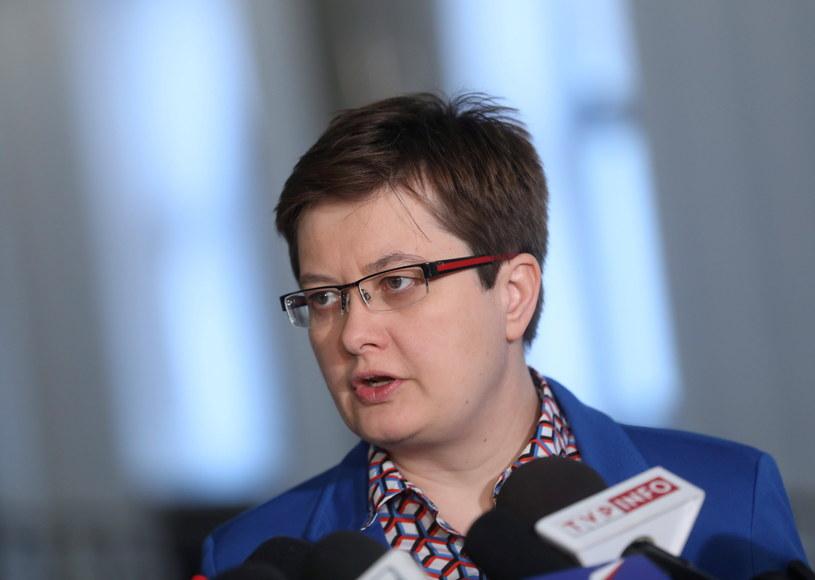 Wiceprzewodnicząca Nowoczesnej Katarzyna Lubnauer /Rafał Guz /PAP