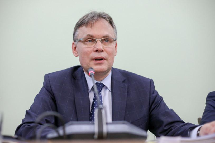 Wiceprzewodniczący Krajowej Rady Sądownictwa Arkadiusz Mularczyk /Andrzej Iwańczuk /Reporter