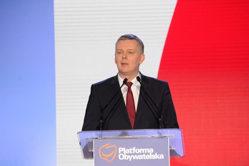 Wiceprzewodniczący Platformy Obywatelskiej, były wicepremier Tomasz Siemoniak /Marcin Obara /PAP