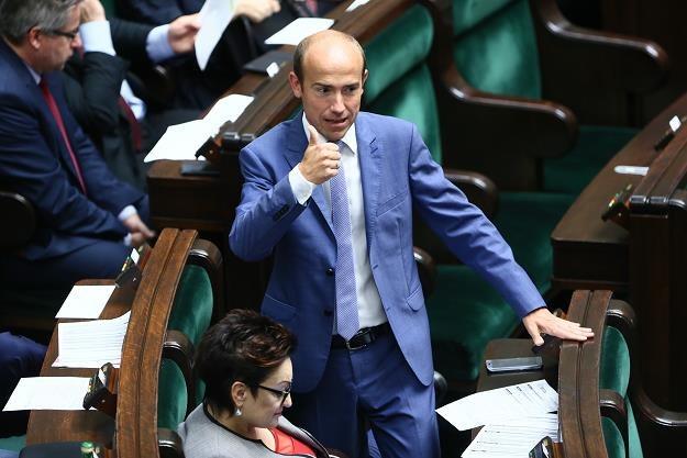 Wiceprzewodniczący PO Borys Budka (C) /PAP