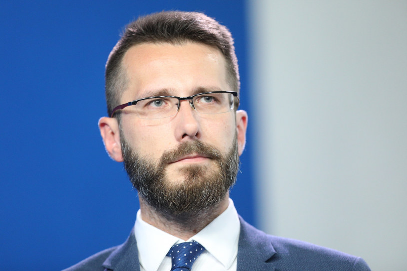 Wicerzecznik PiS Radosław Fogiel /Tomasz Jastrzębowski /Reporter