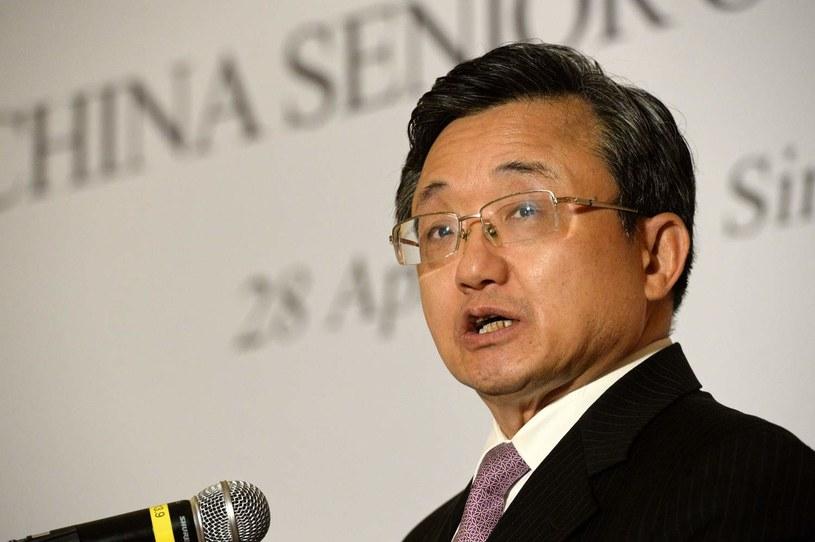 Wiceszef chińskiej dyplomacji Liu Zhenmin /AFP