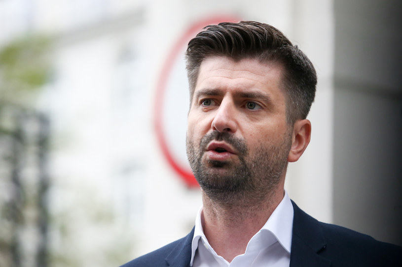Wiceszef klubu Lewicy Krzysztof Śmiszek /Tomasz Jastrzebowski/REPORTER /Reporter