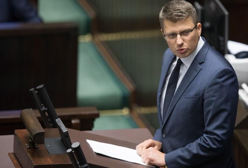 Wiceszef Ministerstwa Sprawiedliwości Marcin Warchoł /Tomasz Jastrzebowski/REPORTER /Reporter