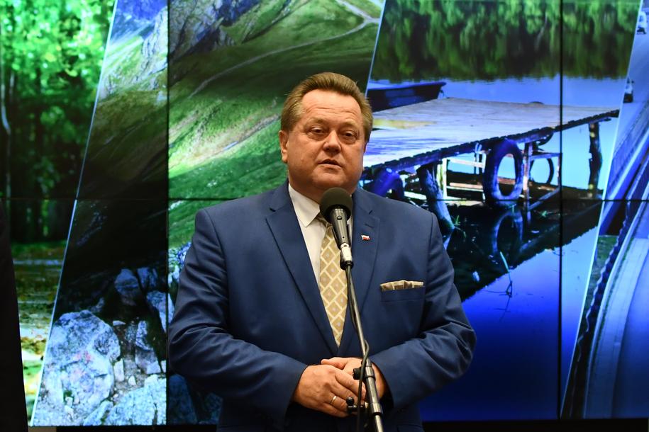 Wiceszef MSWiA Jarosław Zieliński /Paweł Balinowski /Archiwum RMF FM