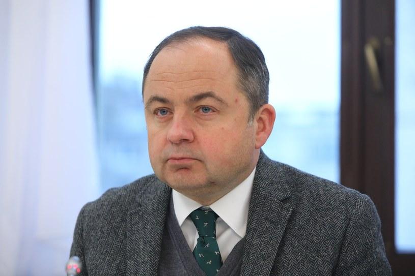 Wiceszef MSZ ds. europejskich Konrad Szymański /STANISLAW KOWALCZUK /East News
