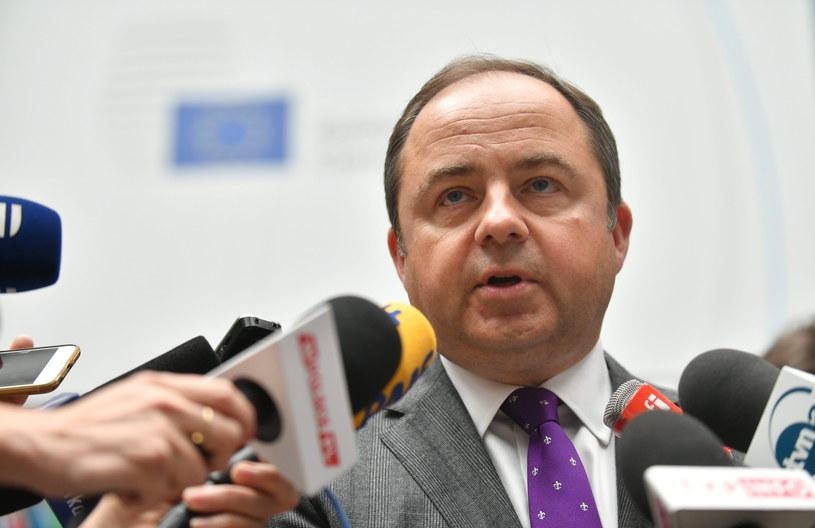 Wiceszef MSZ Konrad Szymański /Bartłomiej Zborowski /PAP