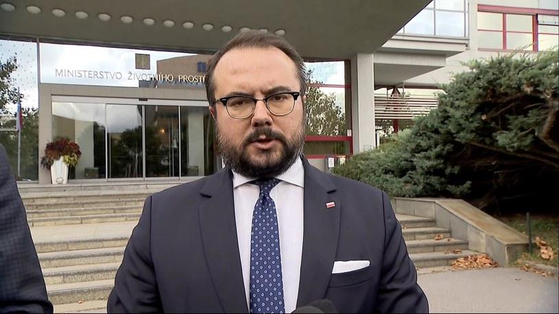 Wiceszef MSZ Paweł Jabłoński /Polsat News /
