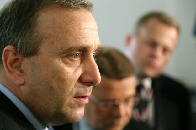 Wiceszef PO Grzegorz Schetyna /Tomasz Gzell /PAP