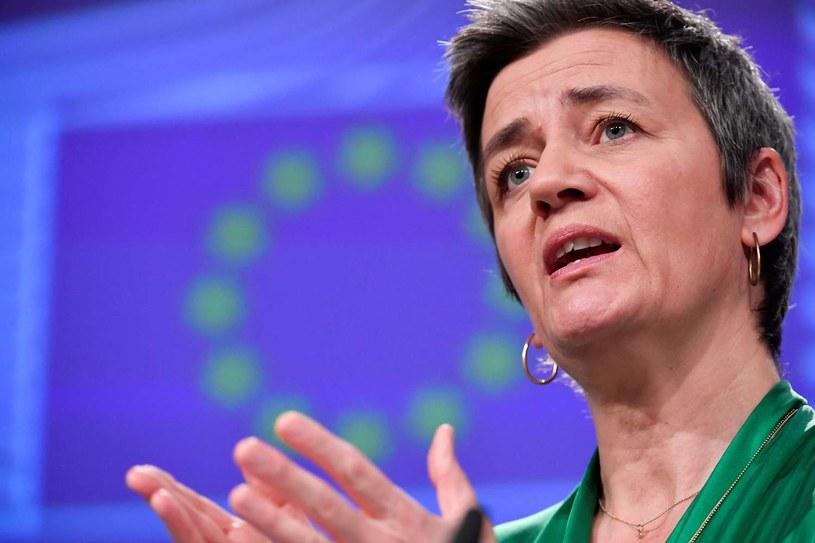 Wiceszefowa KE Margrethe Vestager /AFP