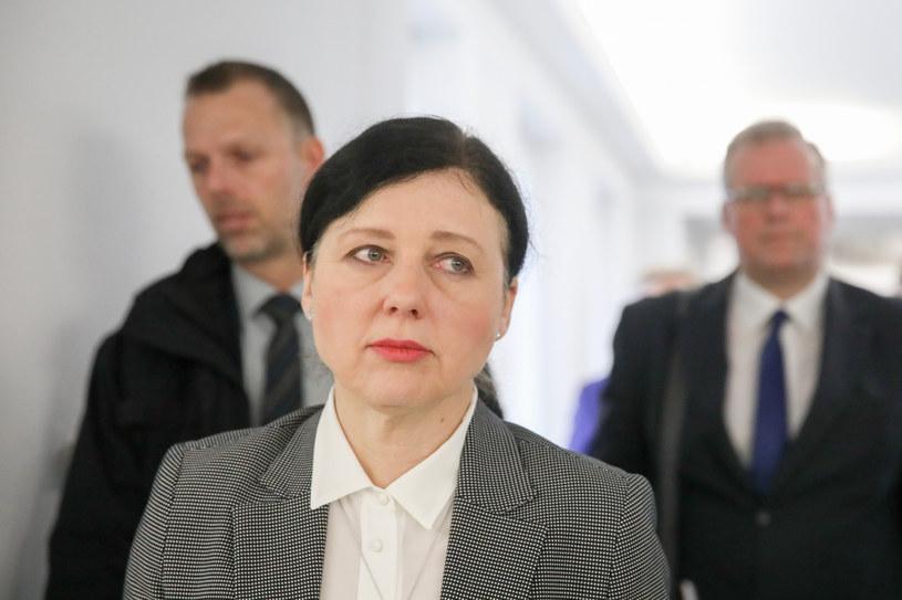 Wiceszefowa KE Viera Jourova /fot. Andrzej Iwanczuk /Reporter