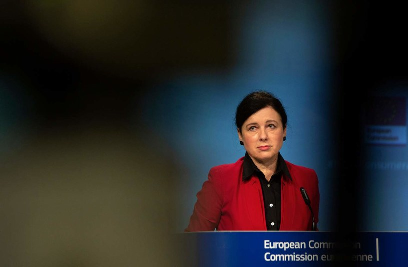 Wiceszefowa Komisji Europejskiej Viera Jourova /Virginia Mayo /AFP