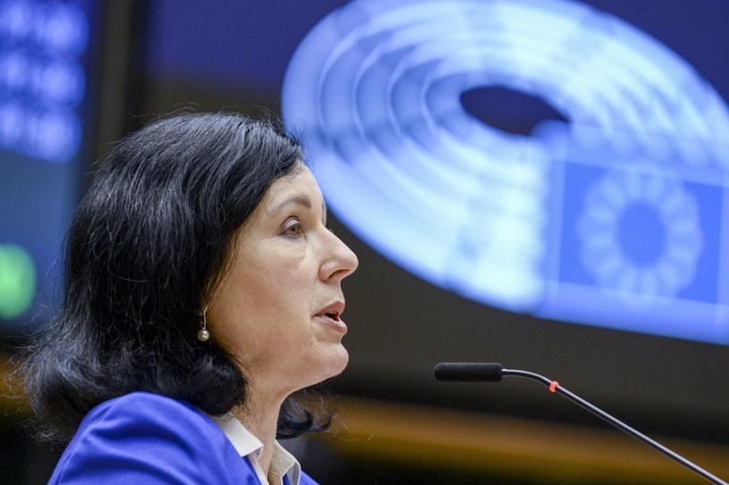 Wiceszefowa Komisji Europejskiej Viera Jourova /JOHANNA GERON /PAP/EPA