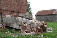 Wichura zrywała dachy na Lubelszczyźnie