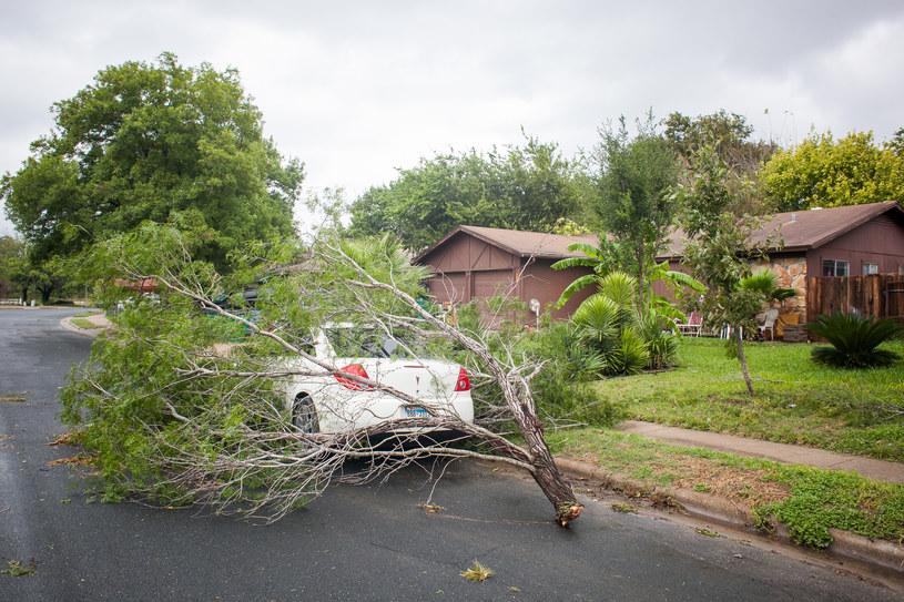 Wichury, ulewy i powodzie nękają Teksas /AFP
