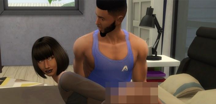 WickedWhims - fragment zdjęcia z moda do gry The Sims 4 /materiały źródłowe