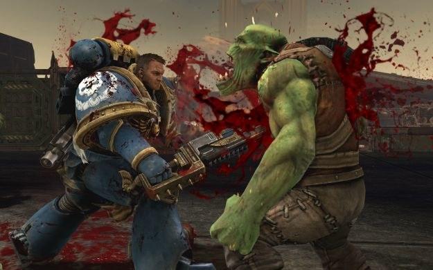 Widać, że główny bohater wzoruje się na Marcusie Fenixie z Gears of War /Informacja prasowa