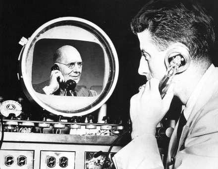 Wideofon jak go sobie wyobrażano w 1940 roku /Archiwum