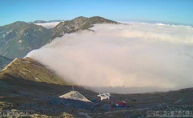 Widmo Brockenu w Tatrach. Kamera uchwyciła niecodzienne zjawisko
