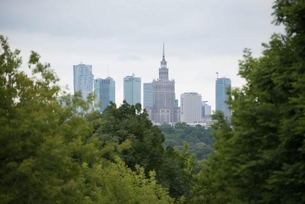 Widok na centrum stolicy Fot. Franek Mazur /Reporter