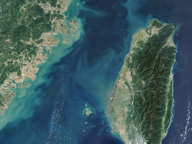 Widok na Cieśninę Tajwańską /Gallo Images / Orbital Horizon/Copernicus Sentinel Data 2019 /Getty Images