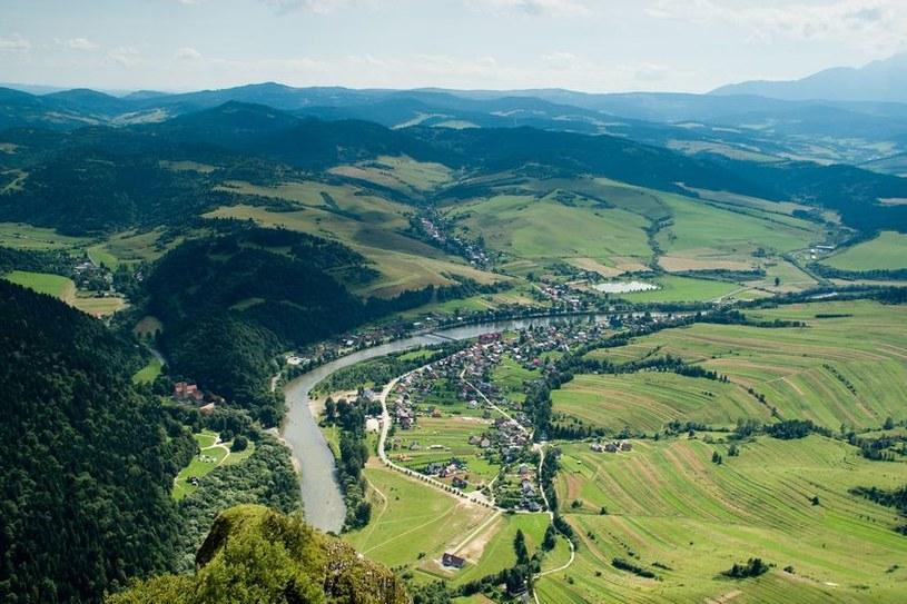 Widok na Dunajec ze szczytu Trzech Koron; zdj. ilustracyjne /123RF/PICSEL