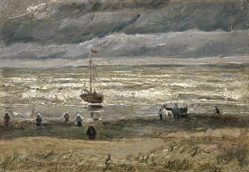 """""""Widok na morze w Scheveningen"""" Vincenta van Gogha /VAN GOGH MUSEUM / HANDOUT /PAP"""
