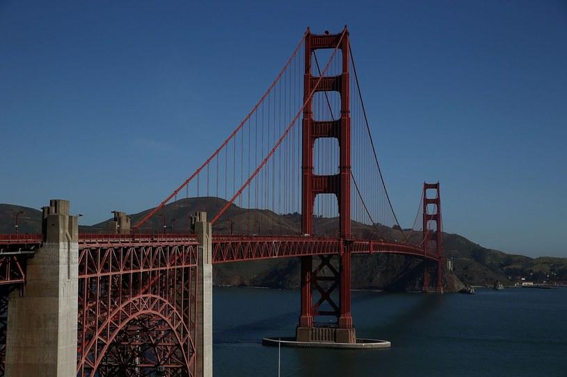 Widok na most Golden Gate, zdjęcie ilustracyjne /AFP