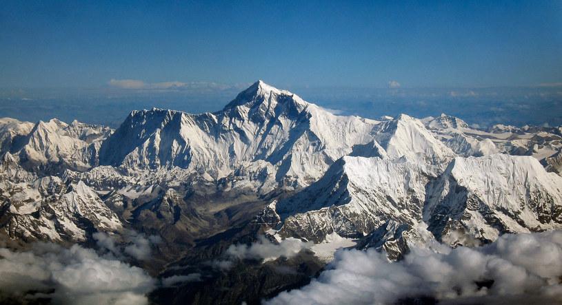 Widok na Mount Everest z południa /Wikimedia Commons /domena publiczna