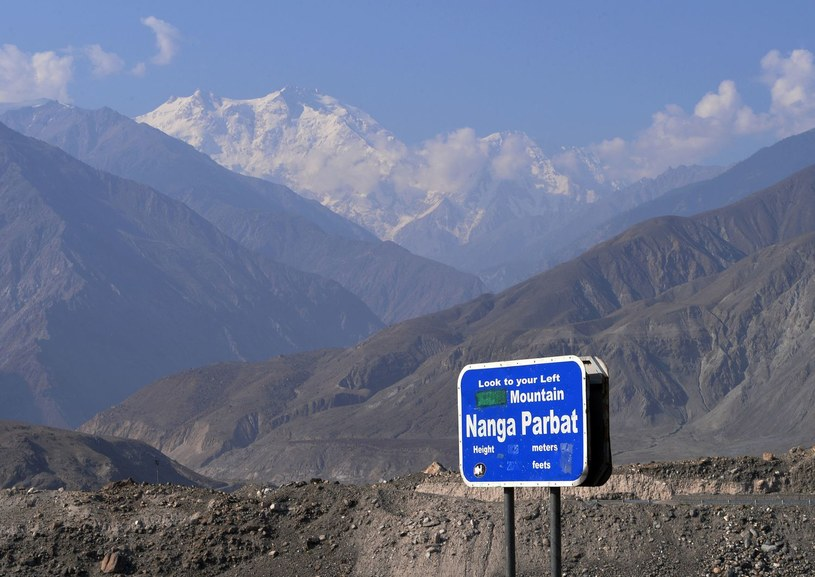 Widok na Nanga Parbat /AFP
