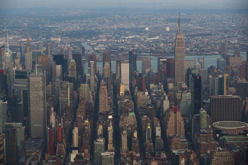 Widok na Nowy Jork /AFP